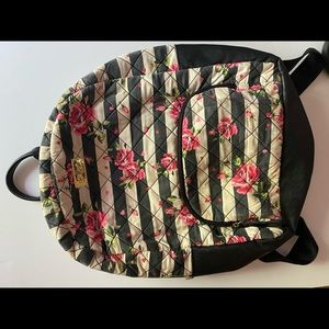 Floral Betsey Johnson Backpack